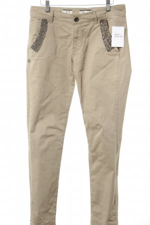 Chinohose beige Casual-Look