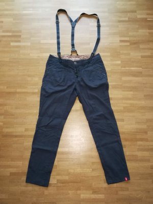 edc by Esprit Pantalon chinos gris ardoise coton