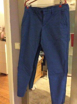 Esprit Chinos blue cotton