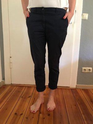 H&M Pantalon chinos bleu foncé