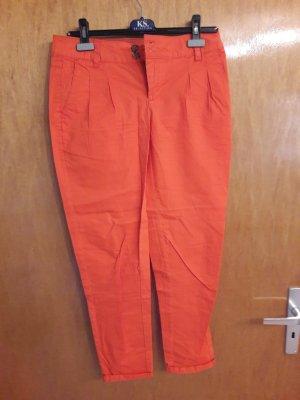 Chinohose in orange von Orsay