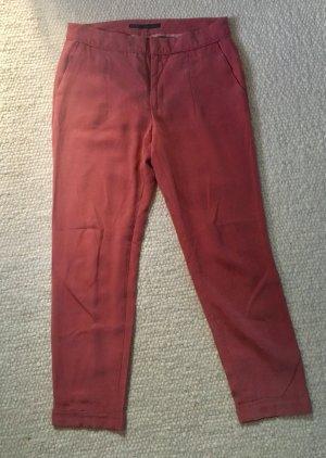 Chinohose Luftige Hose rosa ZARA Größe M