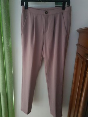 Benetton Pantalon chinos or rose-beige polyester