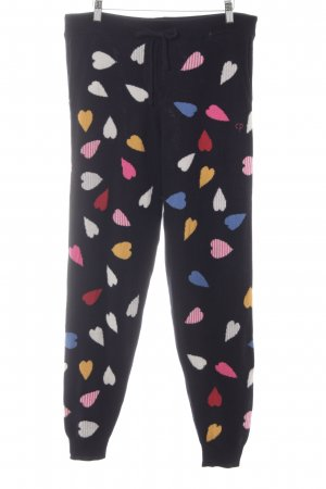 Chinti and parker Wollen broek Herzmuster casual uitstraling
