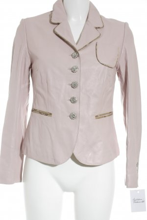 Chips Leather Blazer pink-light pink extravagant style