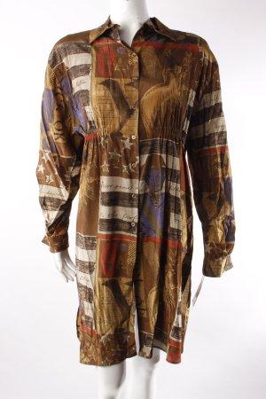 Chiwitt Vintage-Hemdbluse gemustert