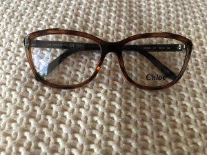 Chloé Occhiale marrone-marrone scuro