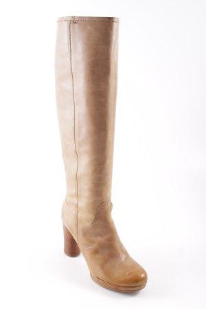 Chloé Absatz Stiefel camel-braun Elegant