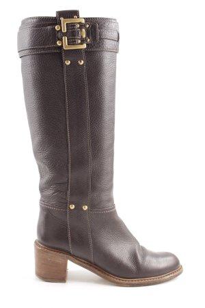 Chloé Heel Boots brown casual look