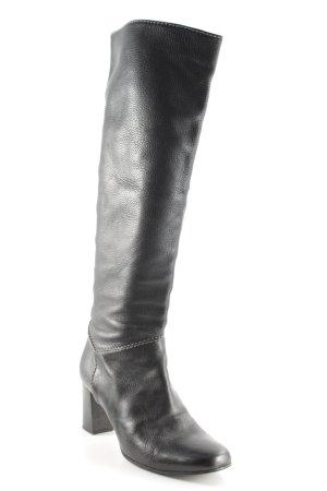 Chloé Botas con tacón negro estilo clásico