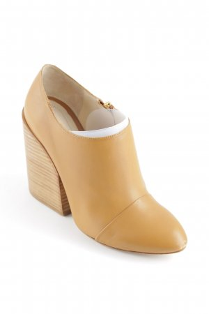 Chloé Ankle Boots camel-light brown urban style
