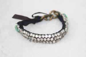 Chloé Bracelet blanc tissu mixte