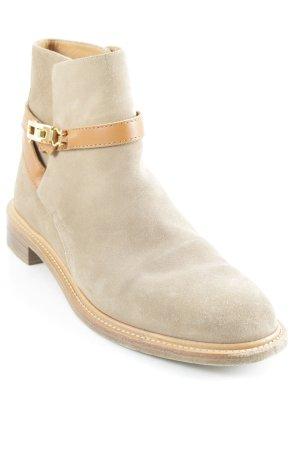 Chloé Booties beige-cognac-coloured street-fashion look