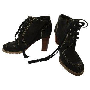 Chloé Heel Boots black suede