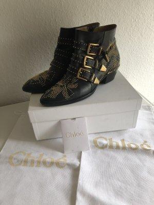 Chloé Boots susanna Gr 38 Stiefel Stiefeletten