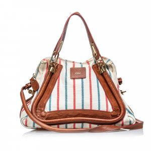 Chloe Canvas Paraty Satchel
