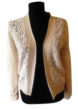 Chloé Knitted Cardigan cream wool