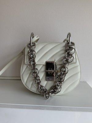 Chloe Crew bijou 19 cm weiß mit Silber Kette