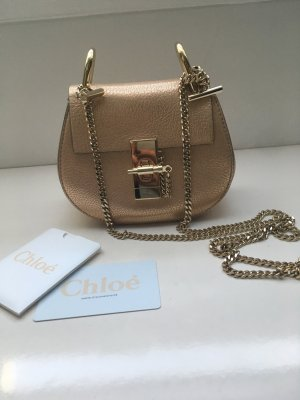 Chloe Drew Bag Nano gold