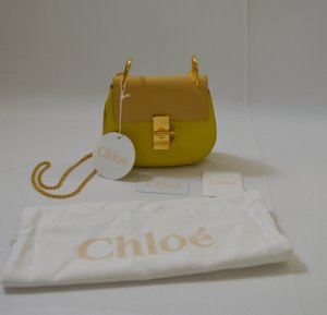 Chloe drew bag yellow small