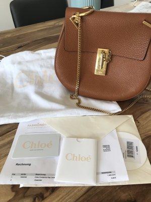 Chloé Handbag cognac-coloured-brown leather