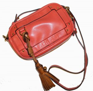 CHLOE EDEN Crossbody Tasche lachs orange Leder