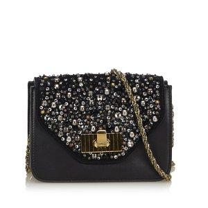 Chloe Embellished Leather Sally Crossbody Bag