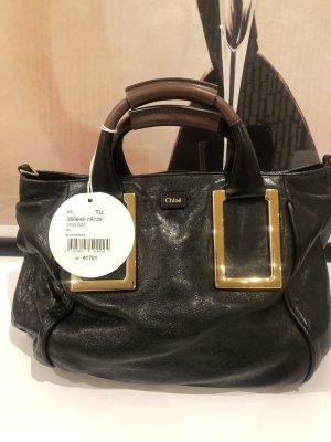 Chloé Handbag gold-colored-black