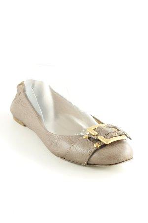 Chloé Ballerines pliables gris brun