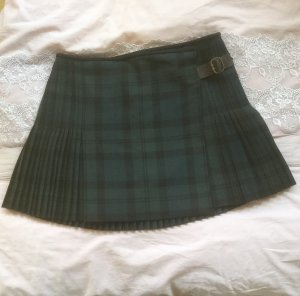 Chloé Skirt dark green-anthracite wool