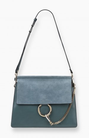 Chloé Faye Bag Cloudy Blue