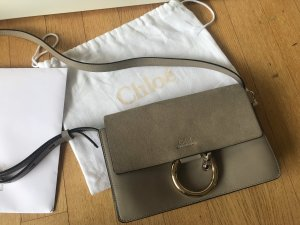 Chloé Faye Medium in Motty Grey Tasche
