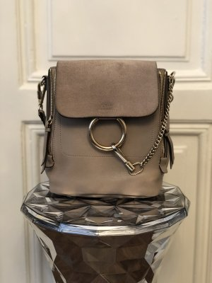 CHLOÉ Faye Rucksack in Taupe
