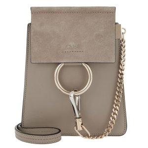 Chloe Faye Small Suede Bag