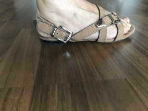 Chloé Strapped Sandals beige