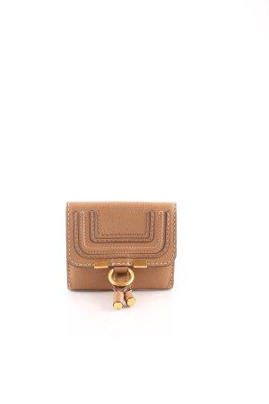 Chloé Geldbörse beige-sandbraun Street-Fashion-Look