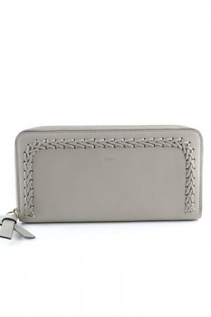 "Chloé Portemonnee "" Long Portefeuil Leather Motty Grey "" grijs-bruin"