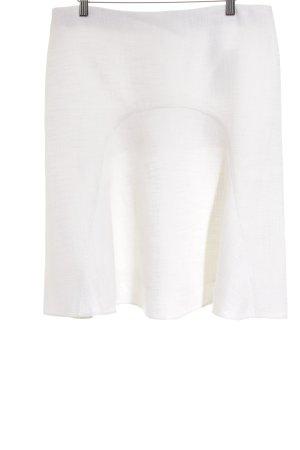 Chloé Falda Godets blanco-blanco puro elegante