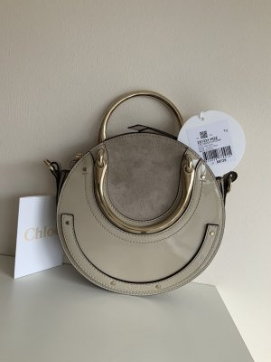 Chloé Handbag light grey-grey leather