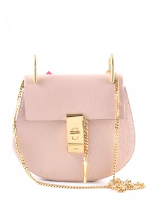 "Chloé Handtasche ""Drew Porte Epaule Mini Cement Pink"" rosa"