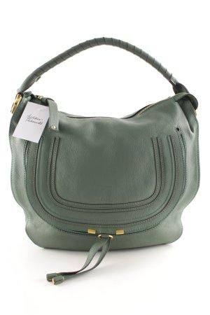 Chloé Handtasche graugrün-grün Business-Look