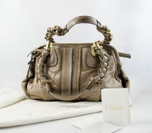Chloe Heloise Satchel Leather Small