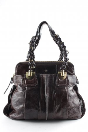 Chloé Carry Bag dark brown casual look