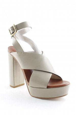 Chloé High Heel Sandal beige party style