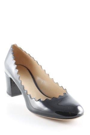 """Chloé High Heels """"Lauren 50 Metallised Pump Black"""" schwarz"""