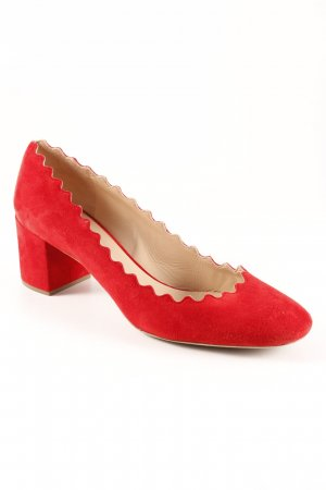 "Chloé High Heels ""Lauren"" rot"