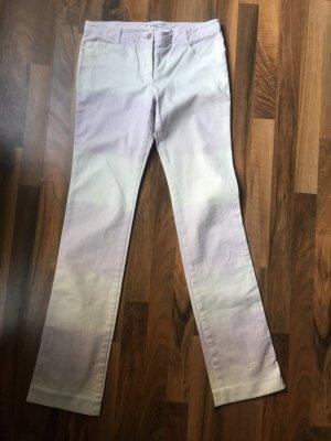 Chloé Pantalone cinque tasche bianco-viola scuro