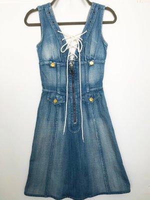 Chloé Jeansjurk korenblauw Katoen