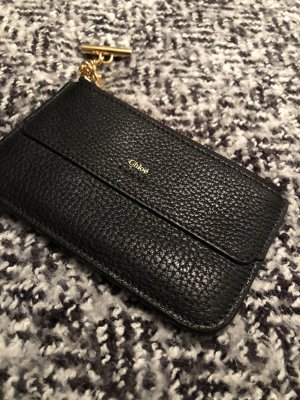 Chloé Card Case black-gold-colored