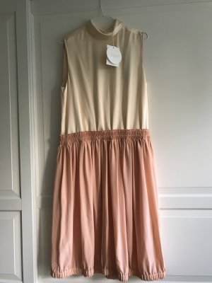 Chloé Midi Dress multicolored silk